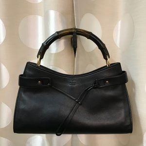 Gucci Leather East West Handbag